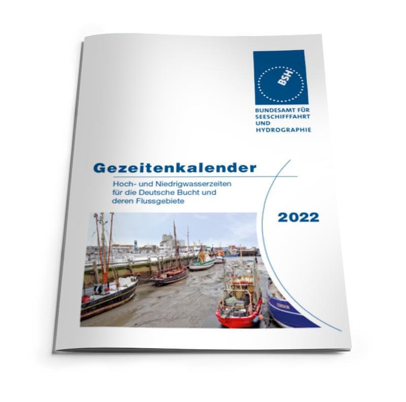 Gezeitenkalender 2022 BSH