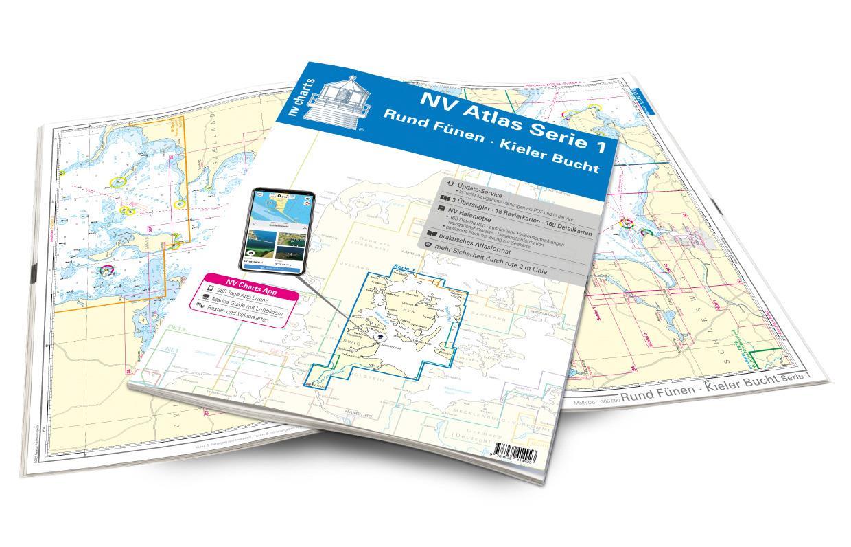 NV Atlas Serie 1 Rund Fünen-Kieler Bucht