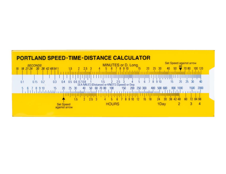 Portland Speed-Time-Distance Calculator 655.31