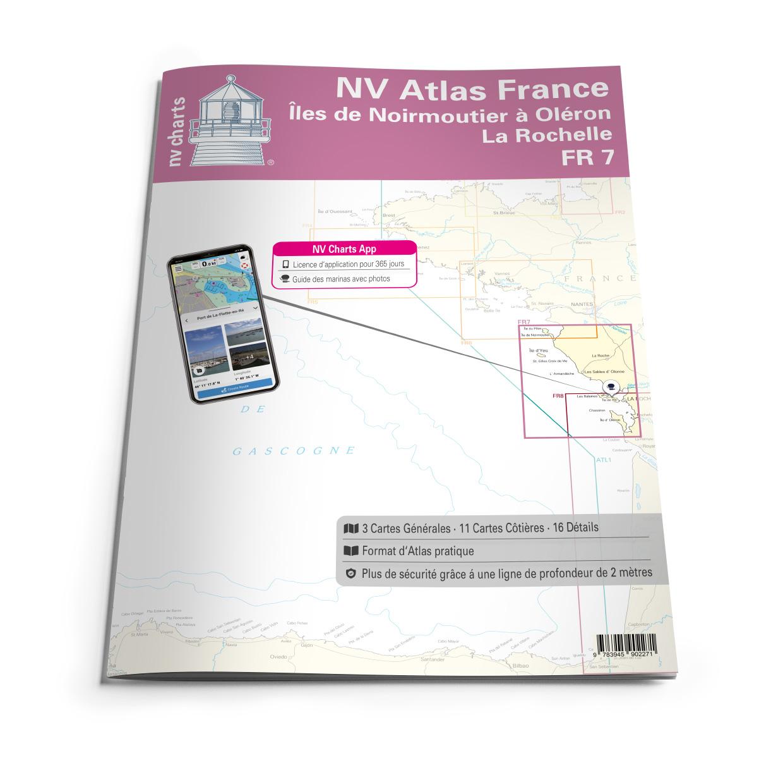 NV Atlas FR7 Iles de Noirmoutier à Oléron - La Rochelle