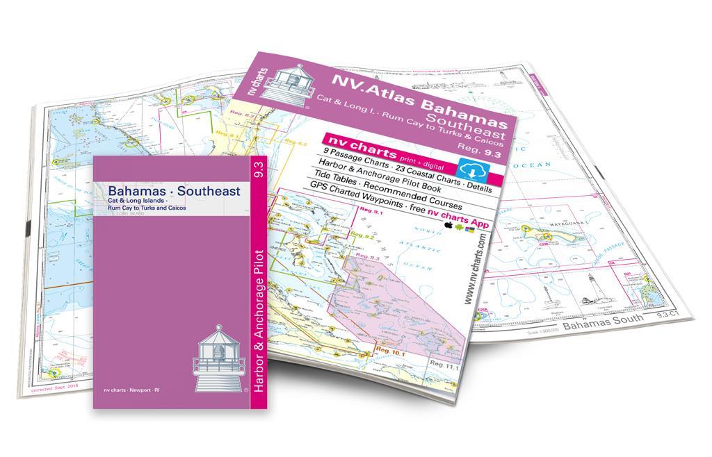 NV Atlas Bahamas 9.3 South East - Cat & Long Island - Rum Cay to Turks & Caicos