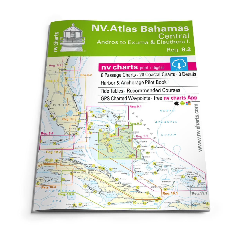 NV Atlas Bahamas 9.2 - Central, Andros to Exumas & Eleuthera Islands