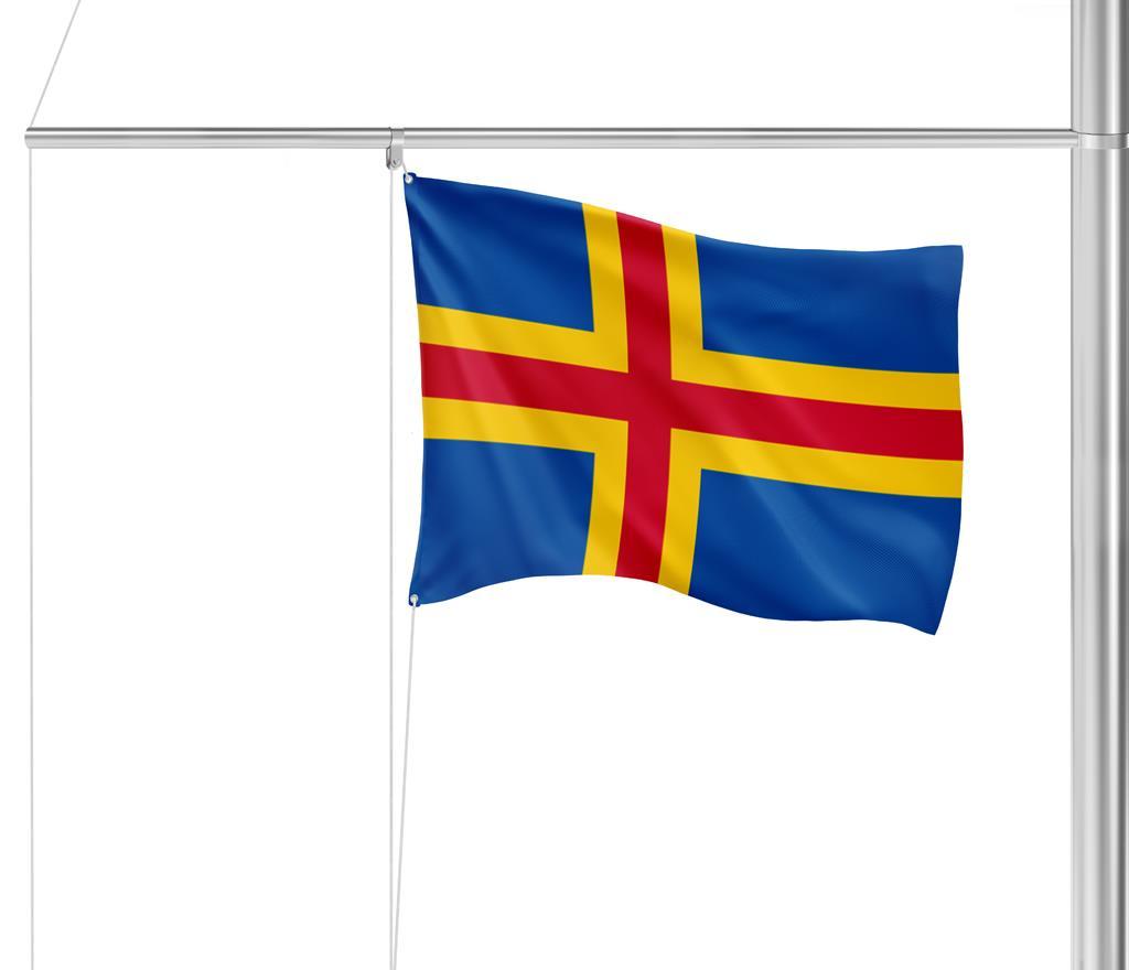 Flaggen Aland-Inseln