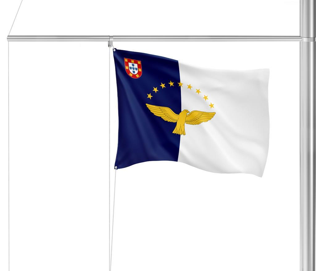 Flagge Azoren