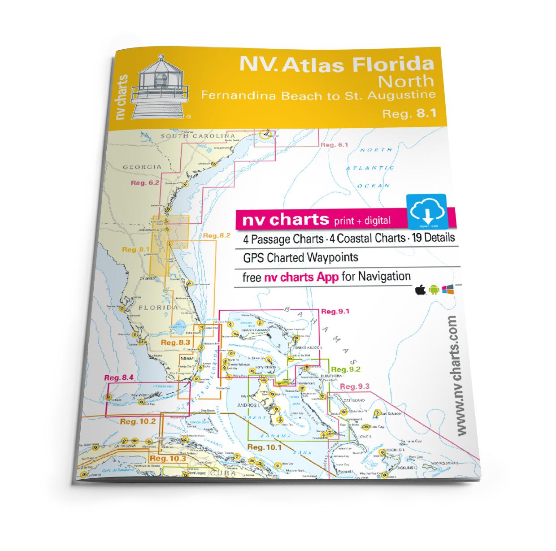 NV Atlas Florida North Reg. 8.1 - Fernandina Beach to St. Augustine