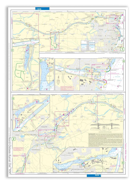 NV Einzelkarte Nord-Ostsee-Kanal