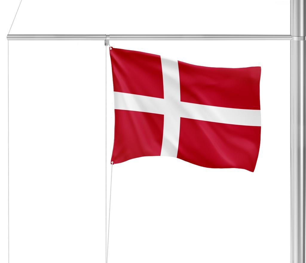 Flaggen Dänemark