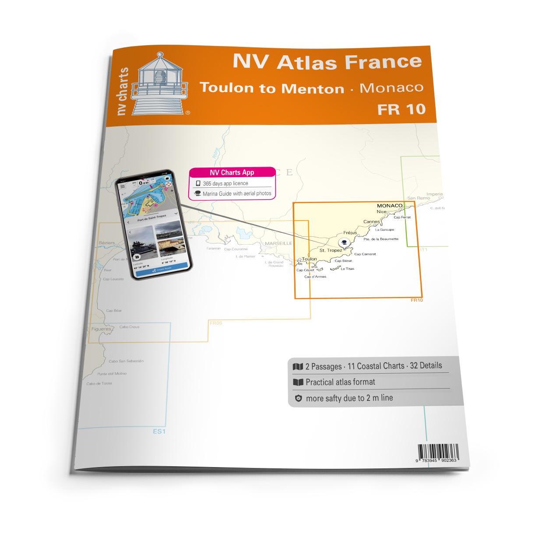 NV Atlas FR10 Toulon to Menton - Monaco