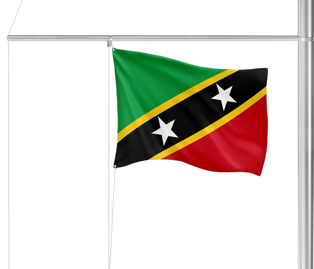 Flagge St. Kitts & Nevis