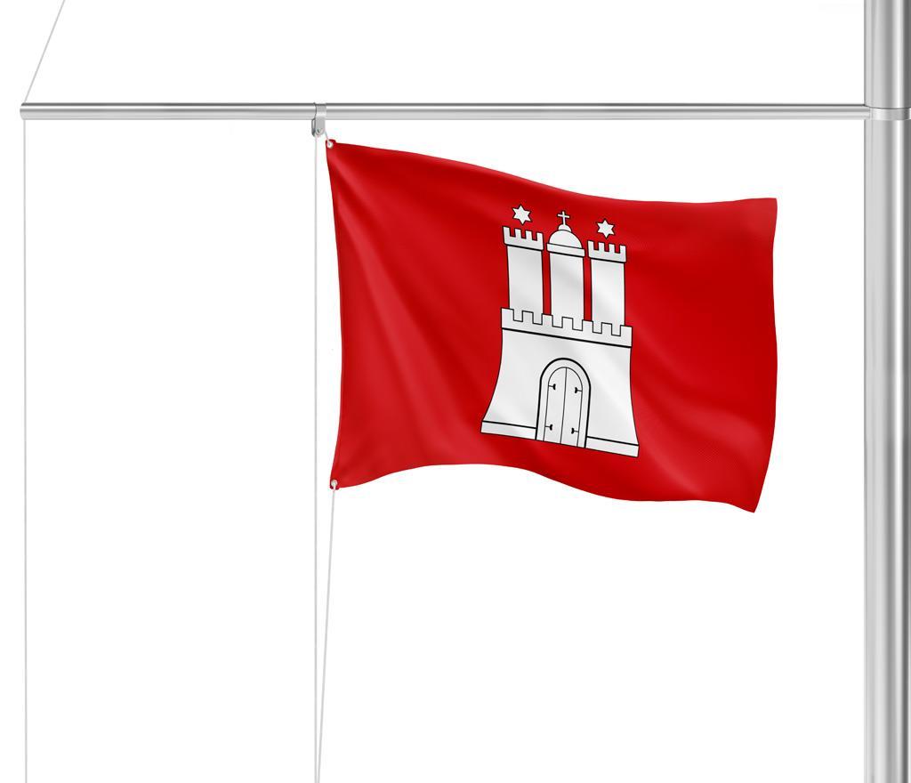 Flagge Hamburg