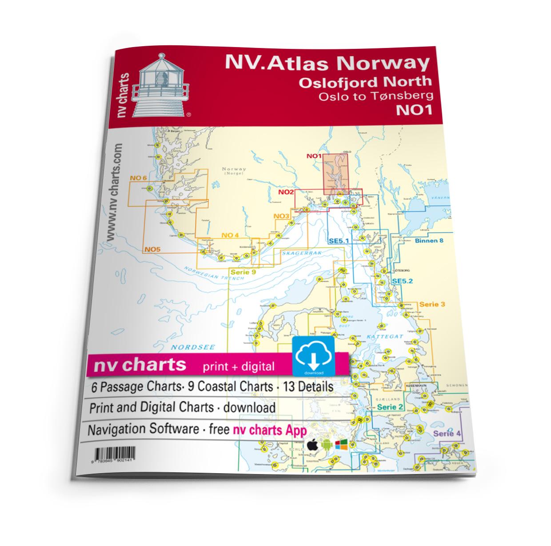 NV Atlas NO1 Oslofjord Nord - Oslo til Tønsberg