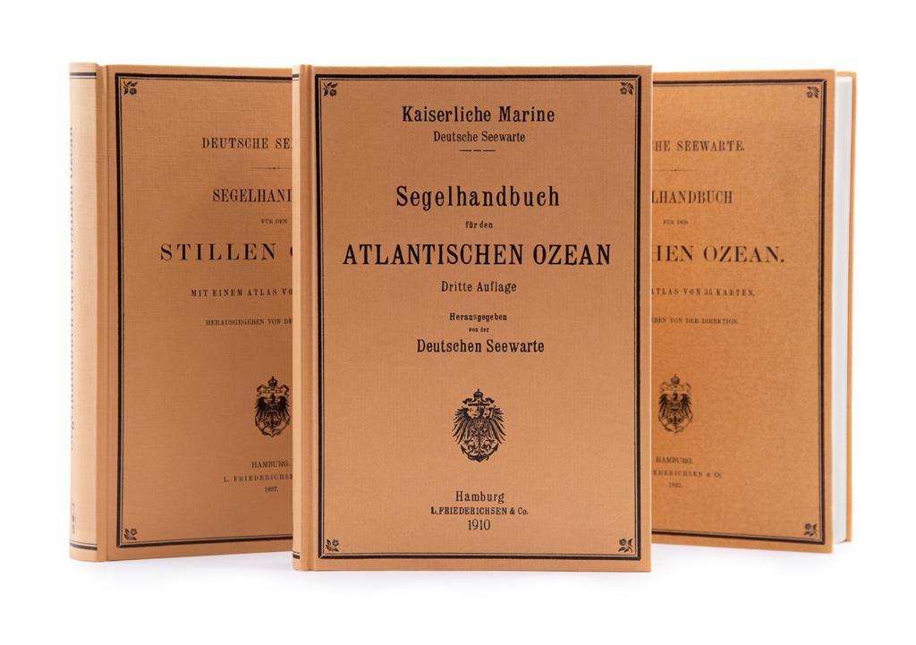 Segelhandbuch Bundle Atlantischer, Indischer und Stiller Ozean