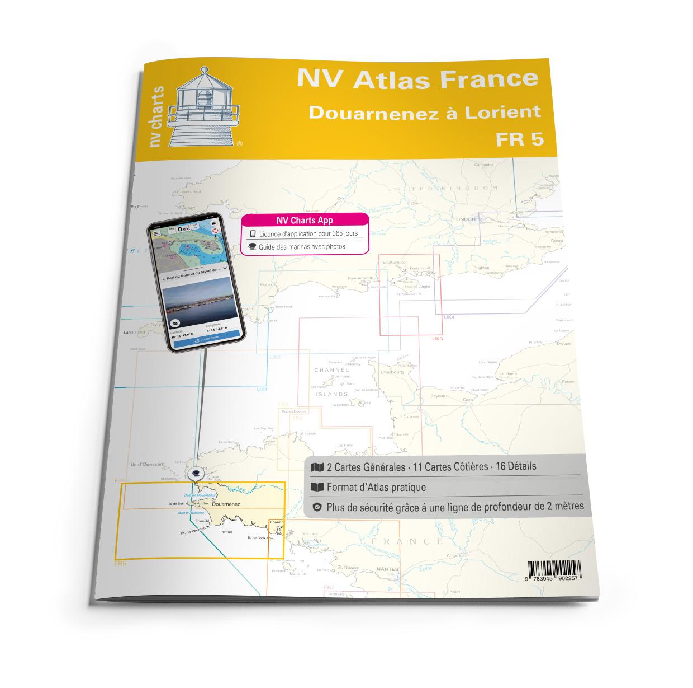 NV Atlas FR5 Douarnenez à Lorient